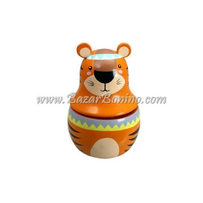 GC0090 - Tigre in Legno Carillon