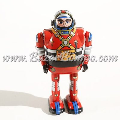 RT0017 - Robot Spaceman Rosso in Latta