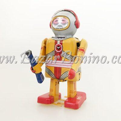 RT0021 - Robot Astronauta con Phaser in Latta